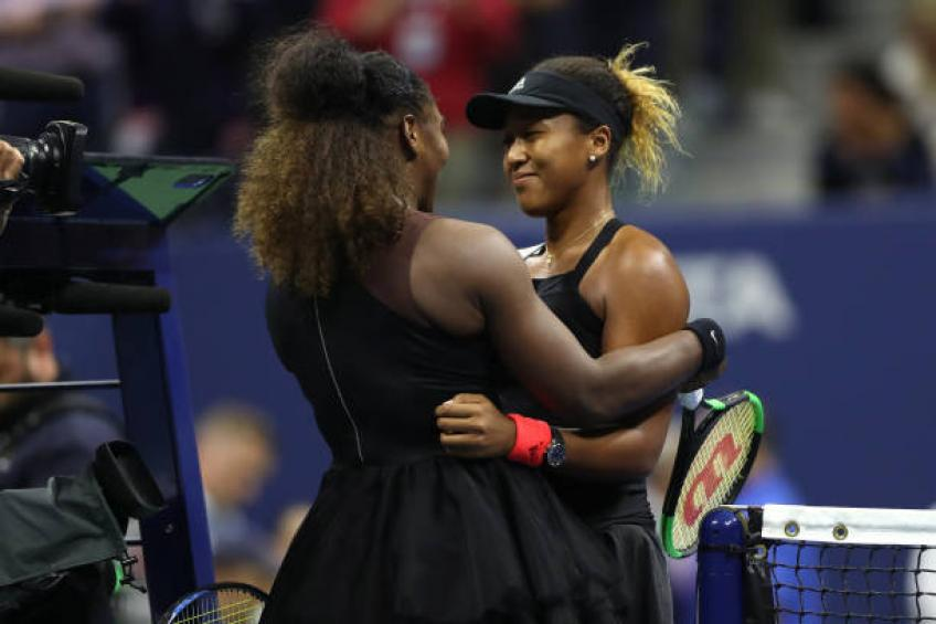 Serena Williams: 'Last year me and Naomi Osaka were comforting each other'