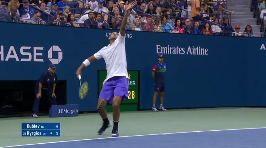 Nick Kyrgios - Four Aces in a Row (2019 US Open)
