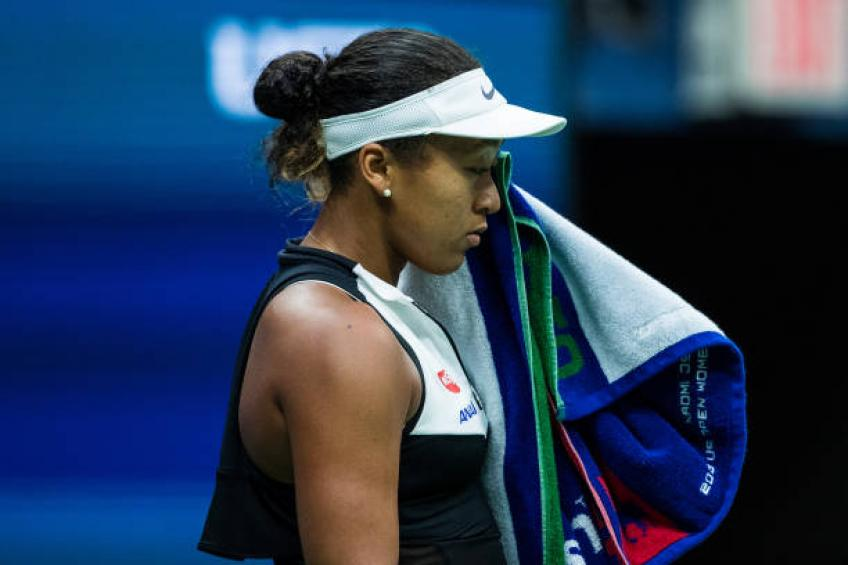 Defending US Open champion Naomi Osaka upset by Belinda Bencic