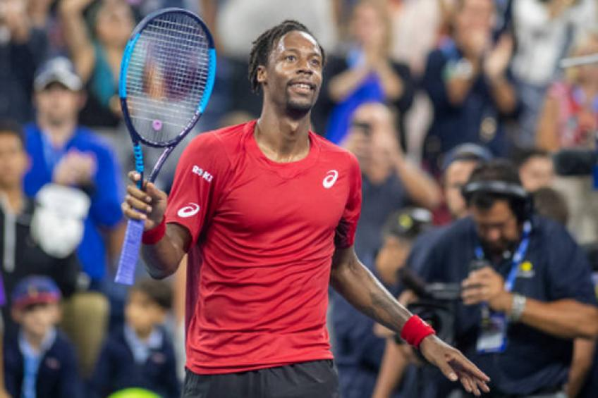ATP US Open: Gael Monfils storms over Pablo Andujar to hit quarters