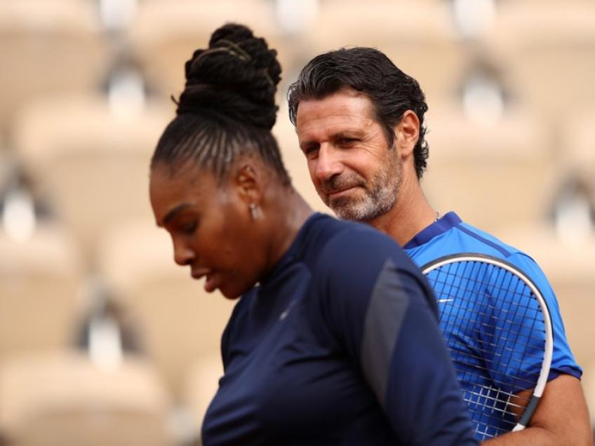 Patrick Mouratoglou: I have no concerns at all. I'm quite happy