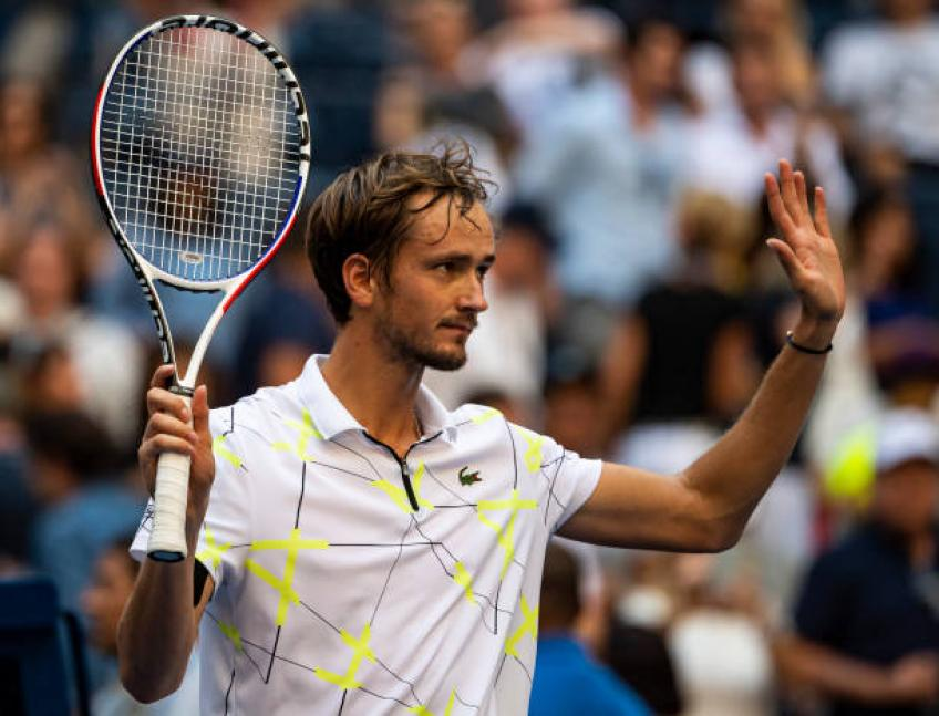 Daniil Medvedev: 'I am not proud about making fun of US Open crowd'