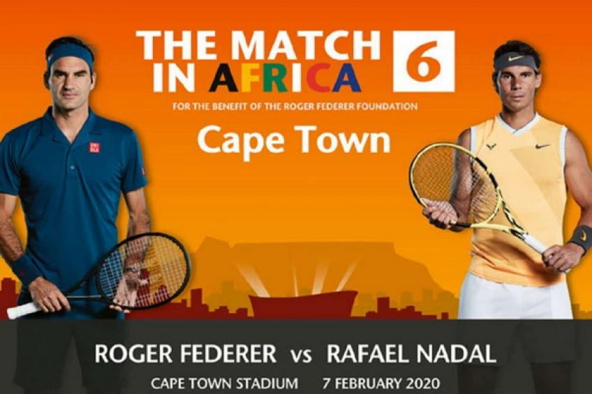 Roger Federer vs. Rafael Nadal in Cape Town: Tickets vanish in ten minutes!