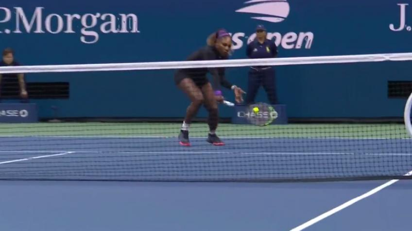 Serena Williams vs Elina Svitolina - Great point