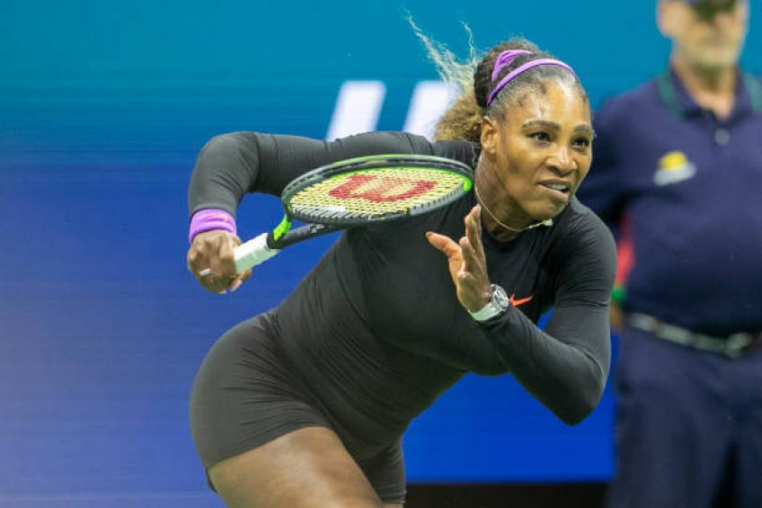 This is by far the best Serena Williams since pregnancy, says Shriver