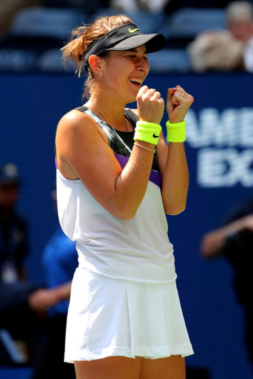 Belinda Bencic satisfied to be moving on and accomplished