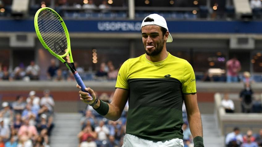 Matteo Berrettini: I came to US Open injured and low on confidence
