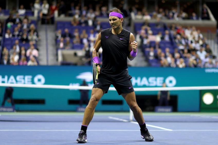 Rafael Nadal follows Roger Federer's numbers on exclusive Major achievement