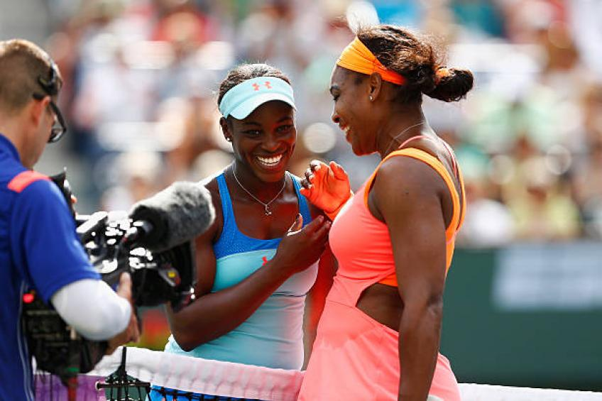 Sloane Stephens: 'Tennis would not be the same without Serena Williams'
