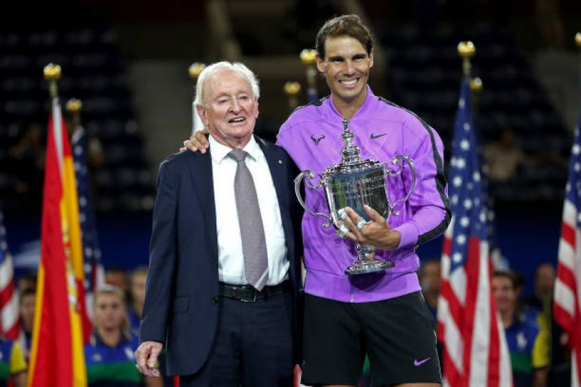 Rod Laver: 'Stand tall Rafael Nadal, you are closing in!'