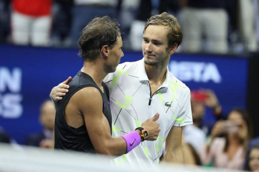 Daniel Medvedev reveals conversation he had with Rafael Nadal