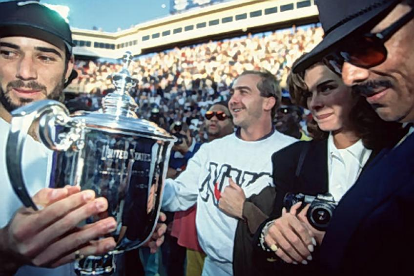 Flashback US Open: Unseeded Andre Agassi Andre writes US Open history