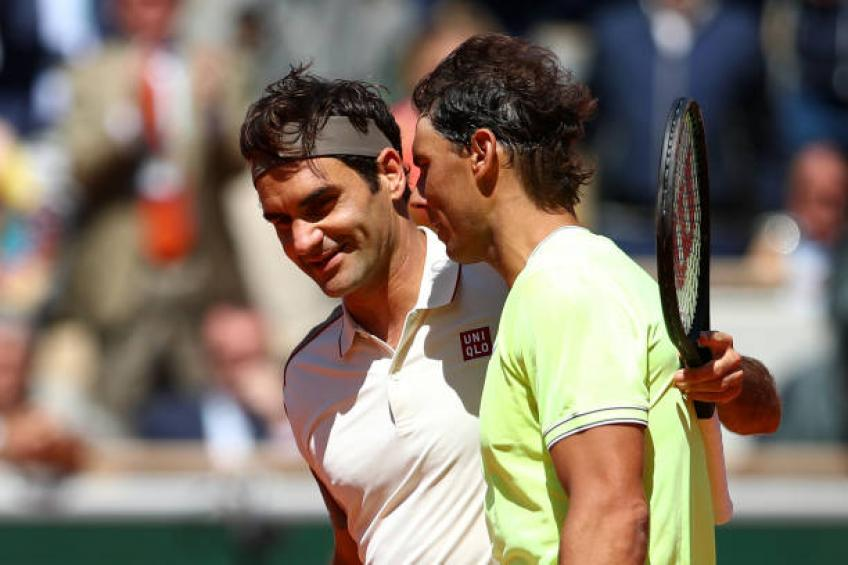 'Nadal is an amazing person, hopefully he breaks Roger Federer's record'