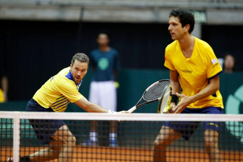 Bruno Soares and Marcelo Melo are eager to send Brazil to Davis Cup Finals