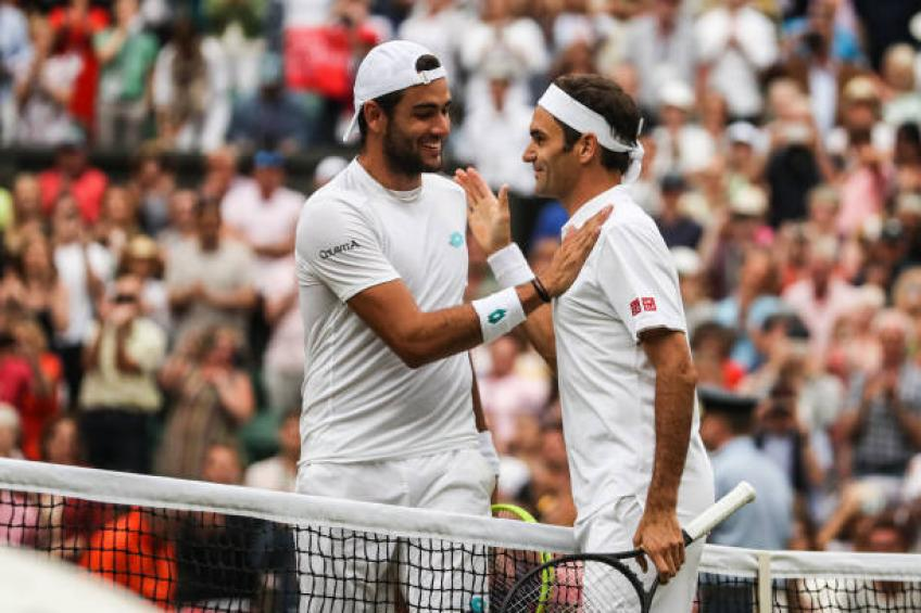I struggled to realize what was happening vs Roger Federer, says Berrettini