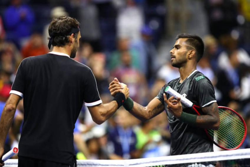 Sumit Nagal: 'I did not want to speak after loss to Roger Federer'