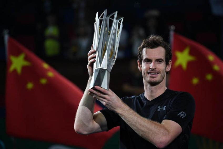 Andy Murray takes wildcard into Shanghai Masters
