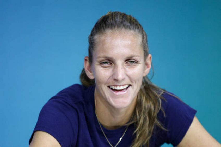 Karolina Pliskova reacts to Kim Clijsters coming back on Tour