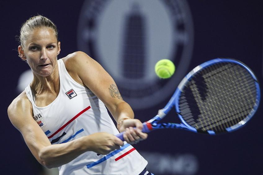 WTA Zhengzhou: Mladenovic downs Svitolina. Pliskova and Martic advance