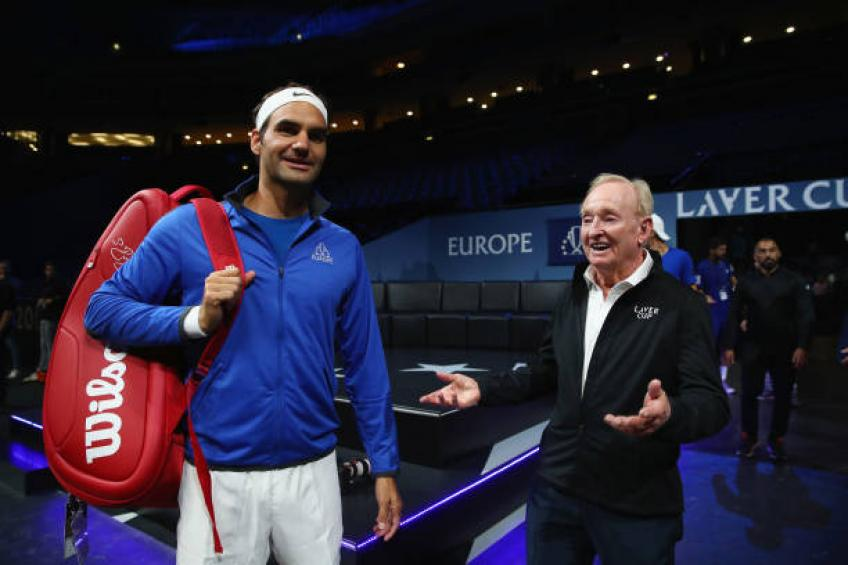 Rod Laver reveals when he met Roger Federer for the first time
