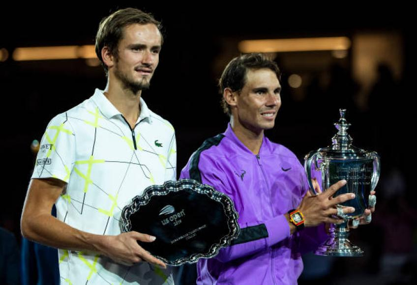 I want to win Slams. I don't care if Federer, Nadal are there - Medvedev