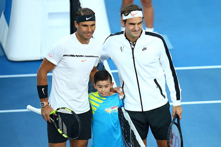Federer shares secrets behind Rafael Nadal and Novak Djokovic's routines