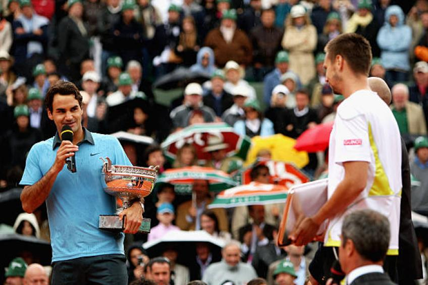 Soderling: 'Roger Federer was much more experienced than me in 2009 final'