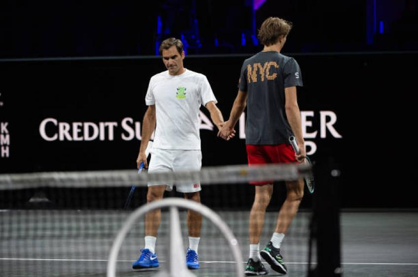 Federer, Nadal Win Singles Matches to Keep Europe Ahead in Laver Cup