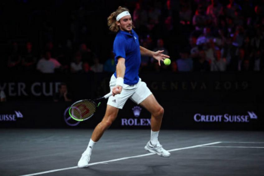 Laver Cup: Stefanos Tsitsipas downs Taylor Fritz to send Team Europe 2-1 up