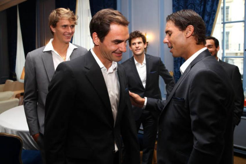 Rafael Nadal opens up on relationship with Roger Federer