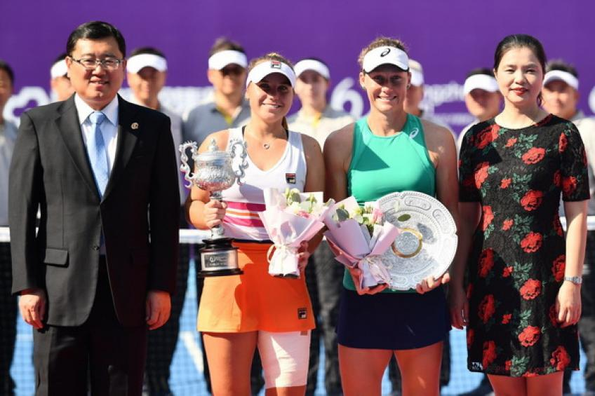 United States  rising star Kenin wins third WTA tennis title