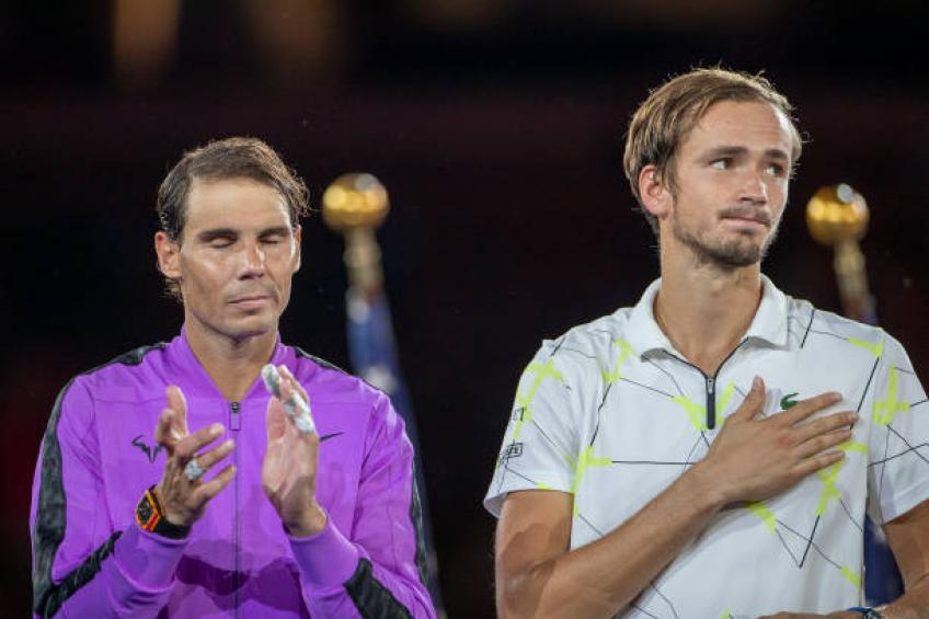 Medvedev: 'Many famous people congratulated me after loss to Rafael Nadal'