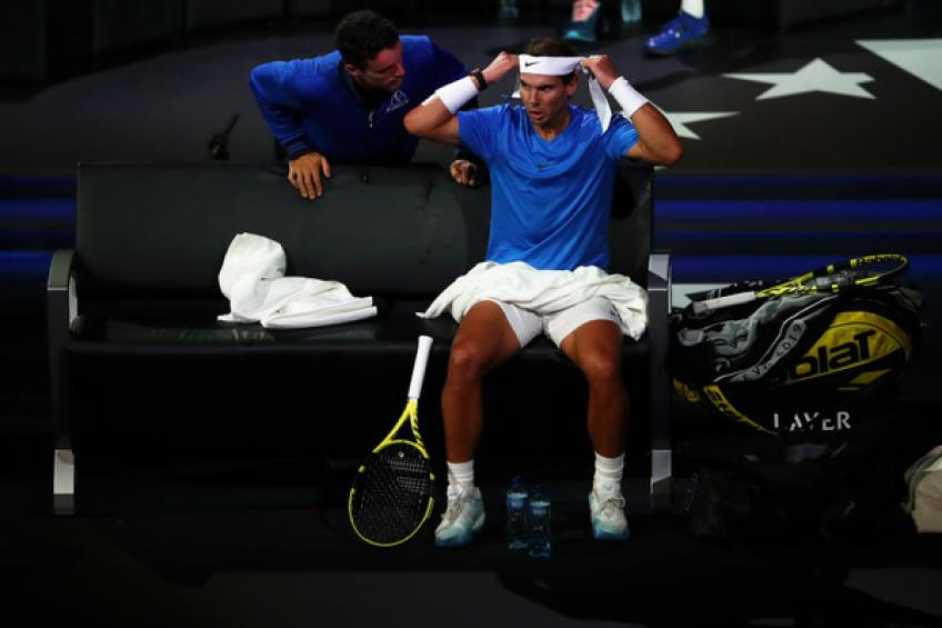 Laver Cup: Rafael Nadal withdraws, will not play doubles with Roger Federer