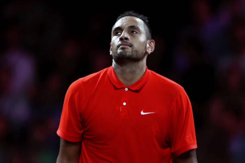Kyrgios: 'If my best bet is to go up vs Federer every time, I will do that'