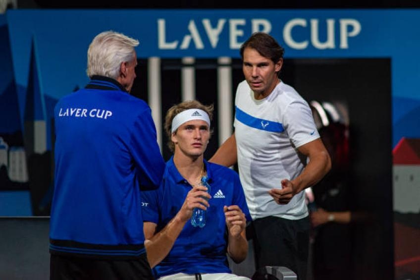 Alexander Zverev: 'Rafael Nadal gives the most energy at Laver Cup'