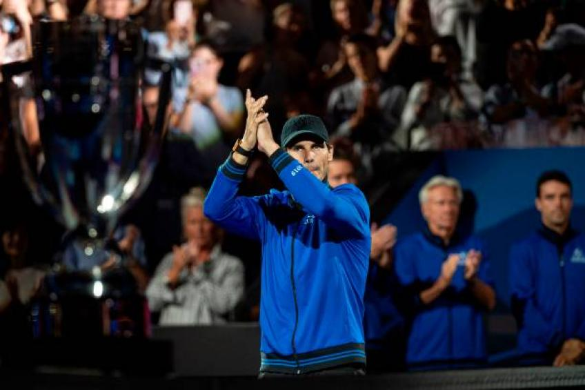 Rafael Nadal opens up on Laver Cup withdrawal