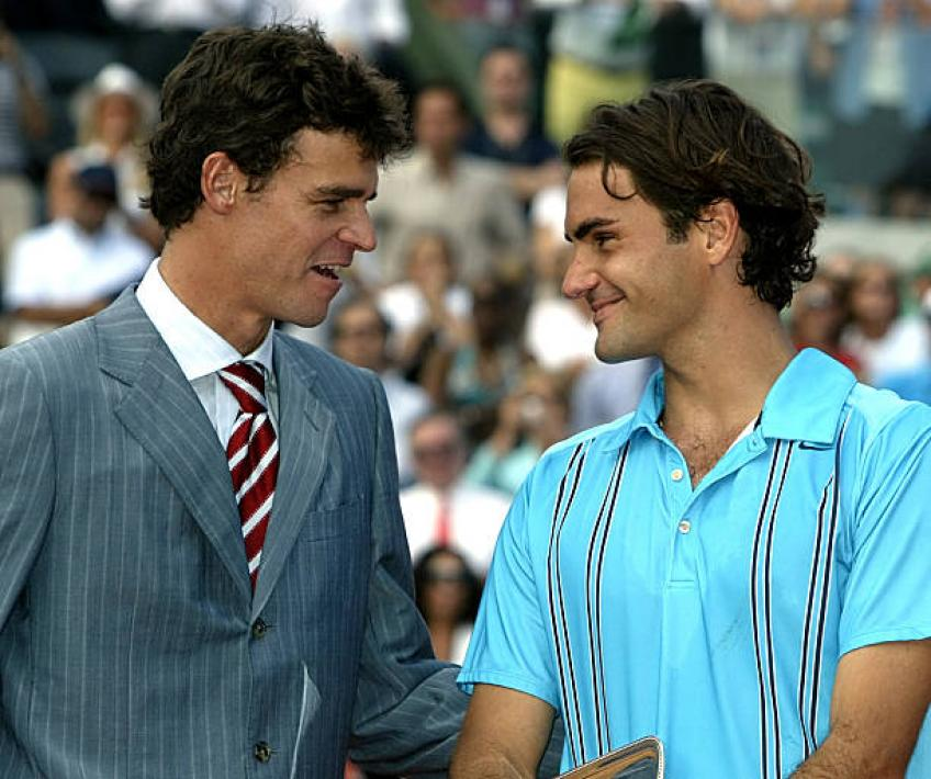 Gustavo Kuerten recalls when he upset Roger Federer at French Open