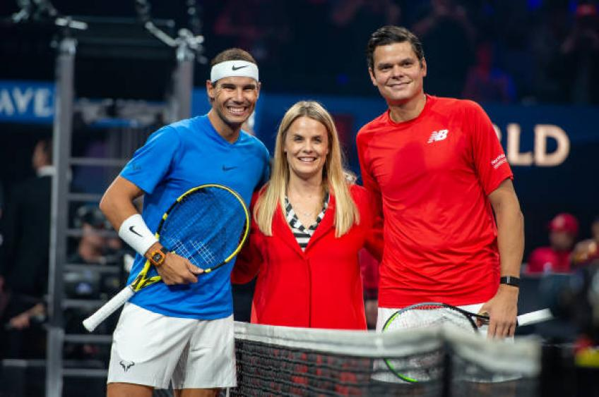 Milos Raonic: 'Rafael Nadal is coming from US Open win, it was so tough' - Tennis World USA