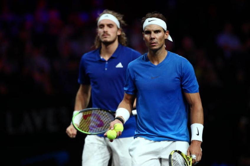 Tsitsipas: 'Spending time with Roger Federer, Rafael Nadal opened my mind'