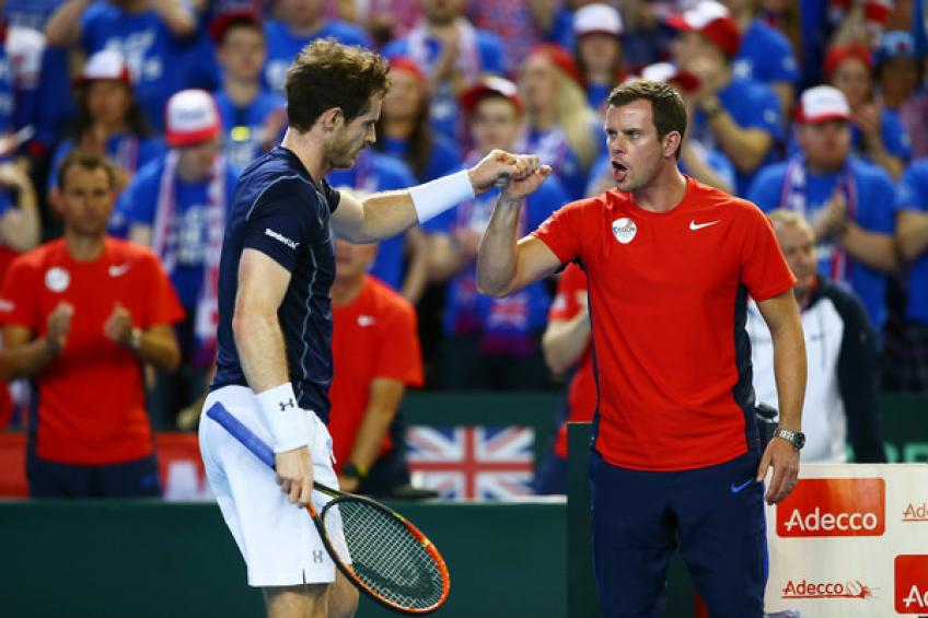 Leon Smith: 'Andy Murray wants to play Davis Cup Finals if he feels ready'