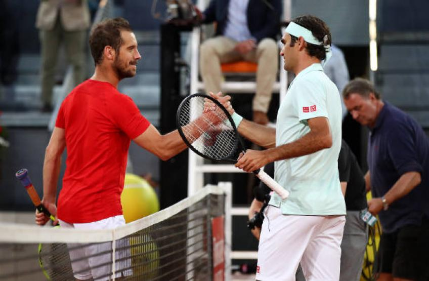 Gasquet: 'Nobody in history was better than Roger Federer, Nadal, Djokovic'