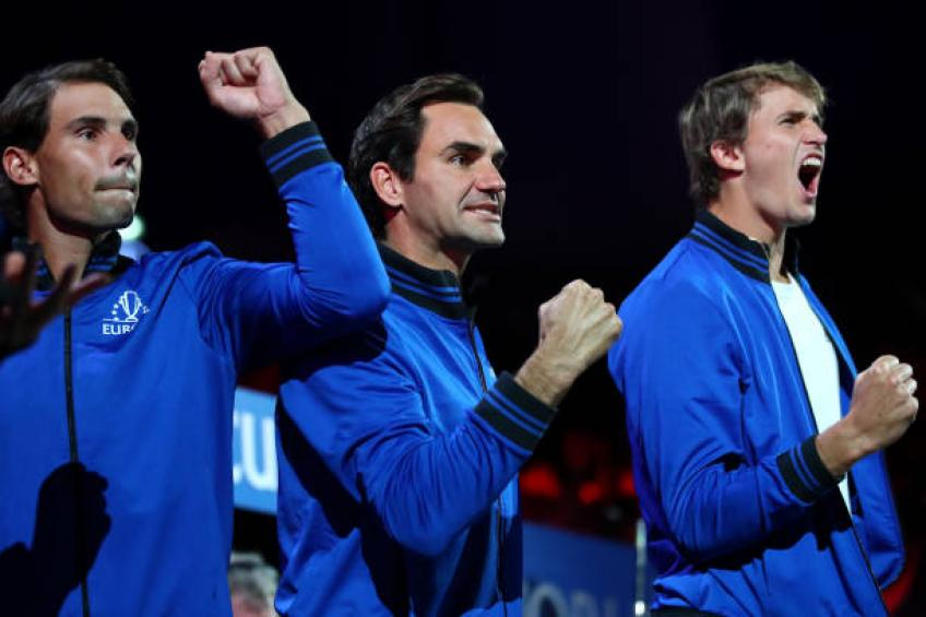 Zverev: 'Roger Federer, Nadal helped me a lot in Laver Cup decisive match'