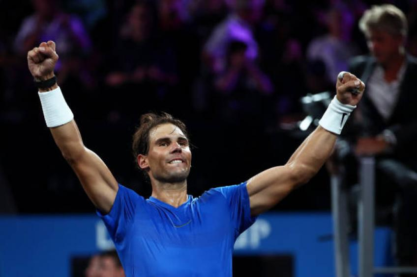 Rafael Nadal: 'I hope hand injury doesn't change my personal goals'