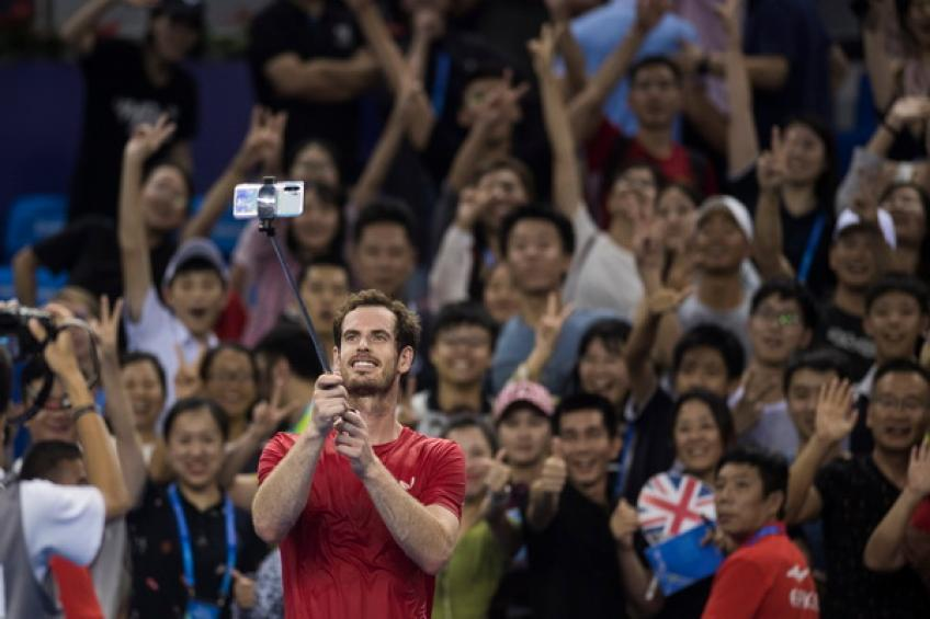 Andy Murray claims first ATP Tour singles victory since January in Zhuhai