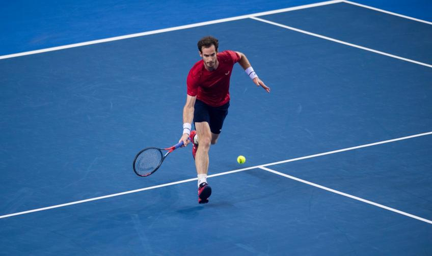 Greg Rusedski reflects on Andy Murray's first ATP win since January