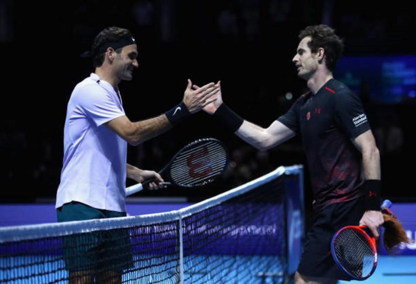 Andy Murray not aiming to face Roger Federer, Nadal and Djokovic yet