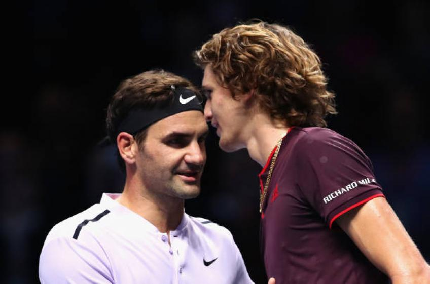 Friendship with Roger Federer played key factor in picking agent - Zverev