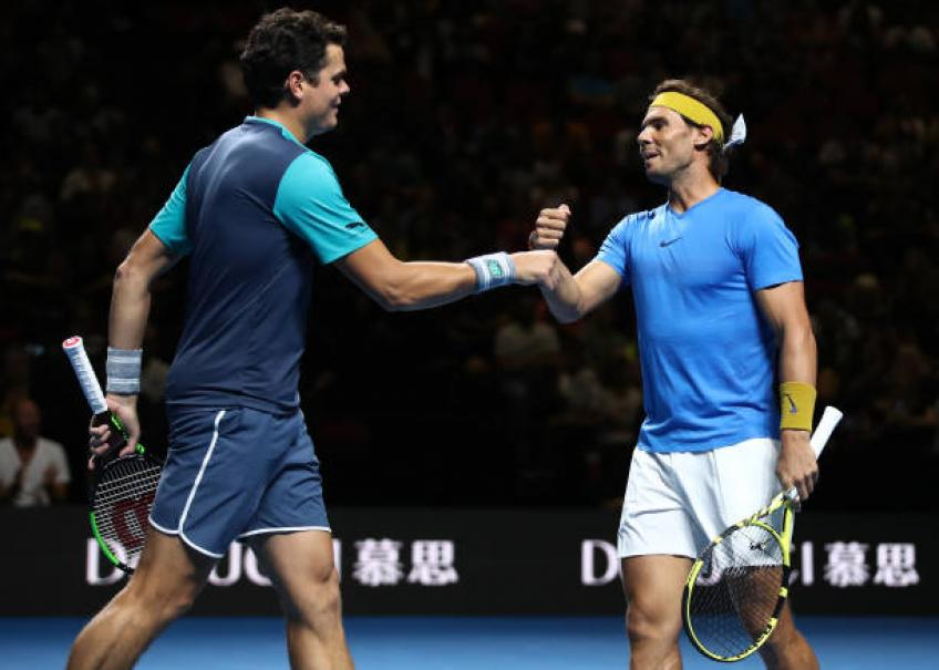 Milos Raonic shares why facing Rafael Nadal is complicated