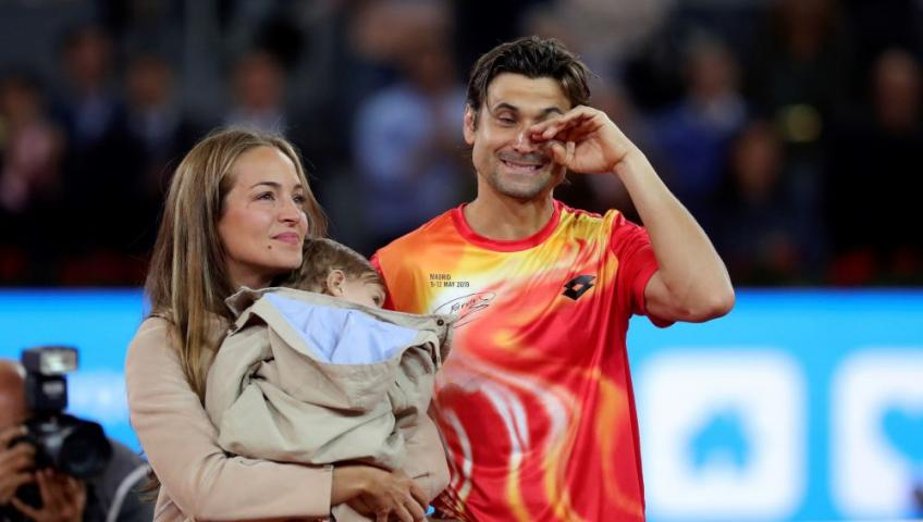 David Ferrer speaks about his son potentially playing tennis