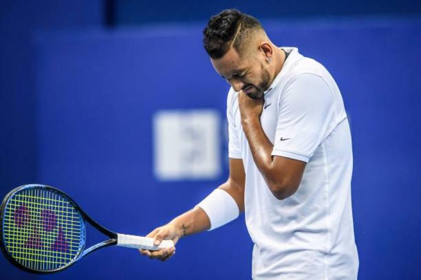 Nick Kyrgios may end season due to shoulder injury